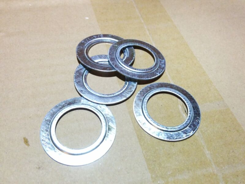 "(100 pc) Steel Reducing Washers 3/4"" x 1/2"" Electrical Box Fitting"