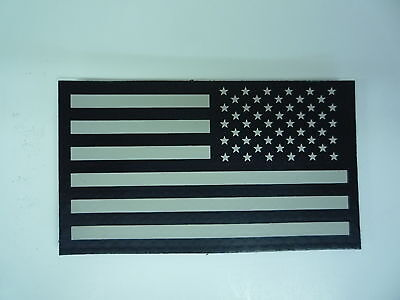 """REV USA FLAG IR PATCH TAN ON MB 3 1/2""""X2"""" REJECT#225 WITH VELCRO® BRAND FASTENER"""