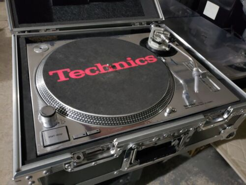 TechnicsSL-1200MK2 Direct-Drive DJ Turntable with new CHROME SKIN Installed!