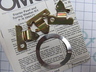 OMC 396071 327398 Starter Pawl Bracket Kit Evinrude Johnson 40 HP 1983-1986