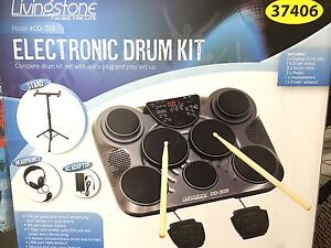 Electronic Drum Kit (used about 3 months and then boxed up again) Rooty Hill Blacktown Area Preview