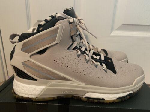 Adidas D Rose 6 Boost Clear Clay Brown Black ART S85537 Mens