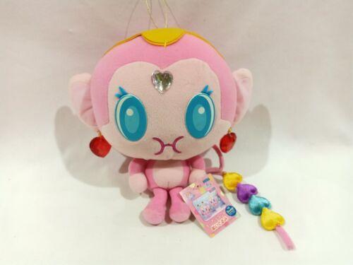"""Sanrio Ayankey Pink Monkey Big Head LARGE 11"""" Plush Doll Toy 2004 Japan TAG HTF"""