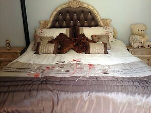 9 pieces-king bed set