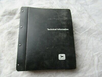 John Deere 4040 4240 Tractor Service Technical Manual W Operation Tests Data