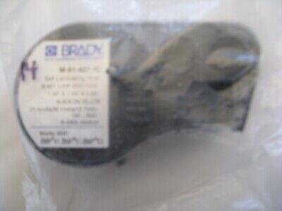 Brady Label Tape Cartridge 1 X 1.5 X 50 Black On Yellow M-91-427-yl