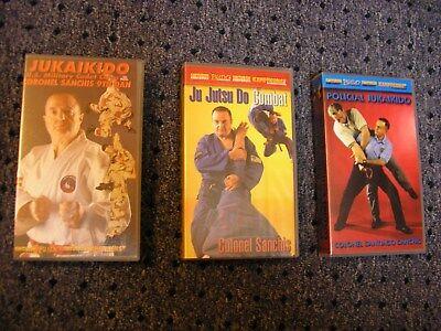 Santiago Sanchis Jukaikido Policial Ju Jutsu Do Combat Instructional VHS OOP