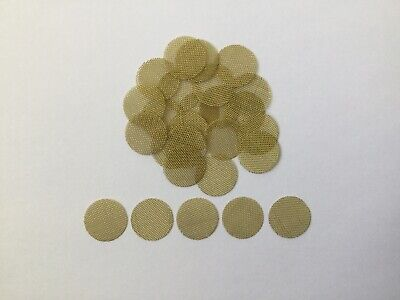 """27 Count Brass Pipe Screens  (1/2"""")  .50"""", HIGHEST QUALITY  USA FREE SHIPPING"""