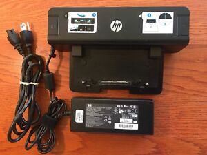 HP Laptop Docking Station with power supply