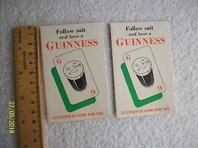Guinness. Old Score Cards .B