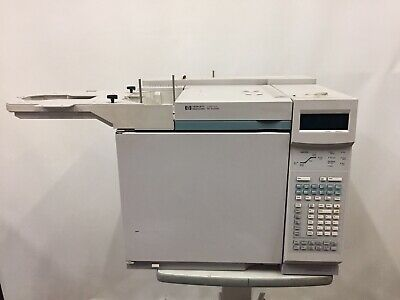 Hewlett Packard Hp 6890 Series Gc System Fid Gas Chromatograph