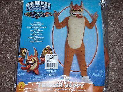 Spyro Kostüme (Skylanders Spyro's Adventure Deluxe Auslöser Föhlich Kostüm Groß 12-14)