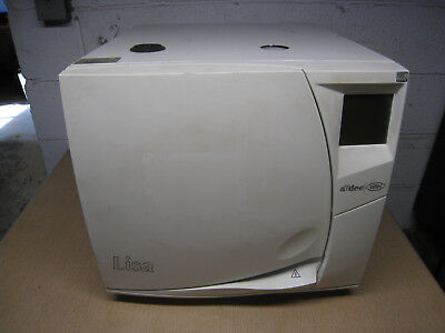 Adec Wh Lisa Mb 17 Instrument Autoclave Steam Sterilizer 230 Volt With 5 Trays