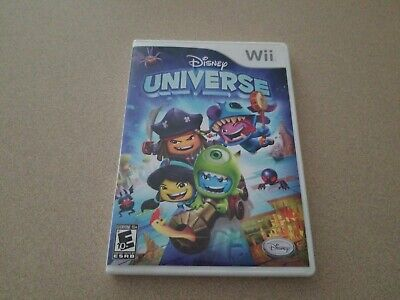 Disney Universe Nintendo Wii Rated E Over 45 Costumes Manual CHRISTMAS!