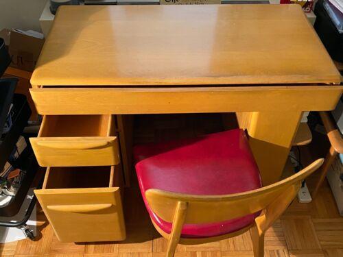 Heywood Wakefield Vintage Students Desk w/ Chair