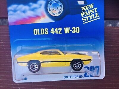Hot Wheels OLDS 442 W-30  1991 ~ FREE SHIPPPING