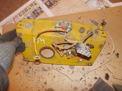 International Cub 154 Lb Tractor Orignl Ih Ihc Dash Cover Panel W Wires