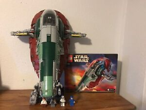 LEGO Star Wars UCS Slave 1 All Pieces/Minifigures