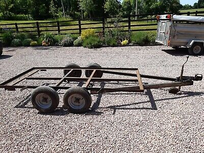 Small Twin Axle Car Trailer Project with nearly new tyres