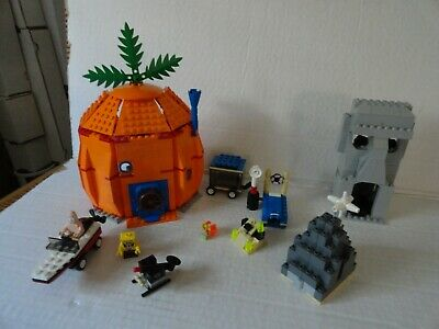 LEGO SET # 3827 - SPONGEBOB SQUAREPANTS SET - ADVENTURES IN BIKINI BOTTOM