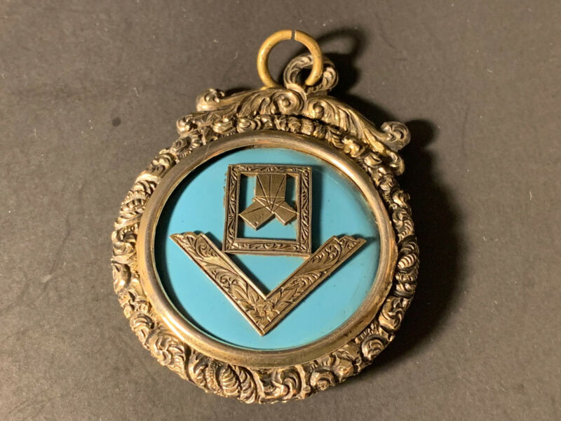 Antique English Sterling Silver Cappagh Free Mason Lodge 350 December 1874