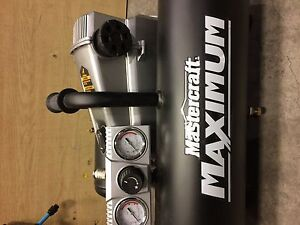 MASTERCRAFT MAXIMUM 5 GALLON AIR COMPRESSOR