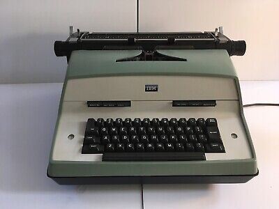 Works Great Ibm Model D 12 Electric Typewriter With Dust Cover Fully Refurbished