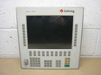 Gehring Msc Bebo1-kt Industrial Pc Computer Operator Interface Control Panel