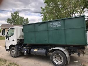 $299 plus Gst for 12yd dumpster including 1 Ton & 7 days