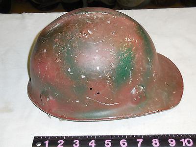 Vintage Aluminum Coal Mining Hard Hat Jackson--liner Damage