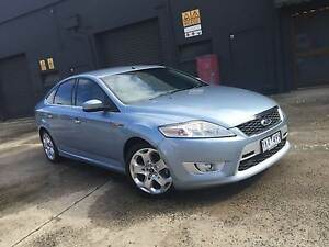 2008 Ford Mondeo XR5 TURBO Alloys Tint Leather REG RWC CHEAP ! West Footscray Maribyrnong Area Preview