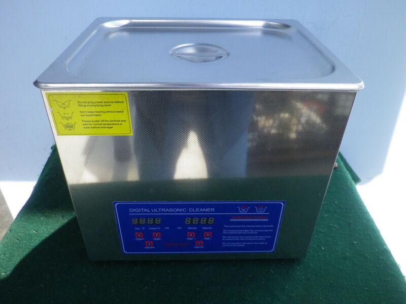 Heated Digital Ultrasonic Cleaner JPS-40A 10L