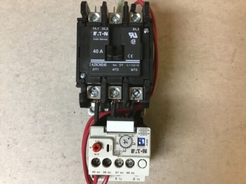 Eaton Cutler Hammer A29CNE40 Motor Starter A29CNY4 With 208-240 Volt Coil-New