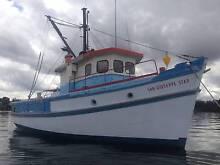 Timber Cruiser. Ex-trawler 50ft double ender. Sydney City Inner Sydney Preview