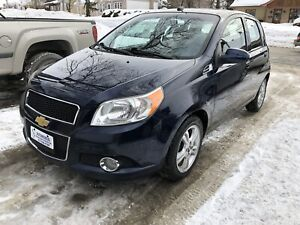 2010 CHEVROLET AVEO 5 LT HATCHBACK **A/C + MAGS + TOIT + FOGS **