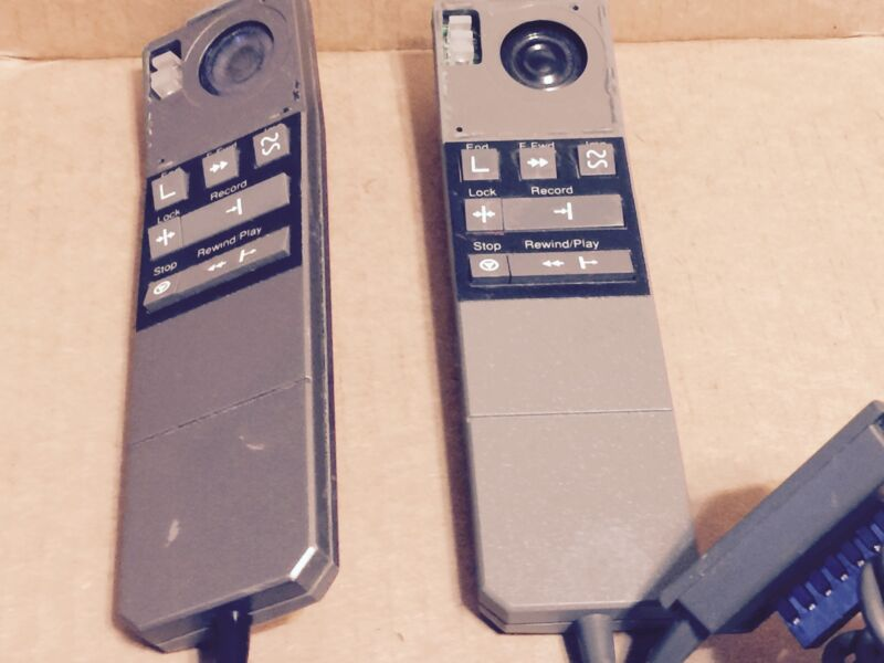 Dictaphone 0350475 OpticMic Barcode Microphone Lot of 2