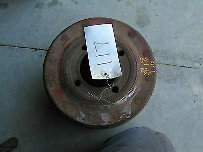 Farmall H Hv 300 350 Sh Tractor Ihc Paper Belt Pulley 9 12 Ready To Use