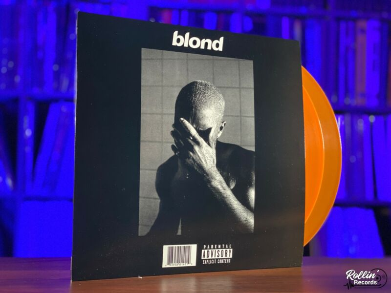 Frank Ocean ‎– Blond Black Cover Vinyl LP