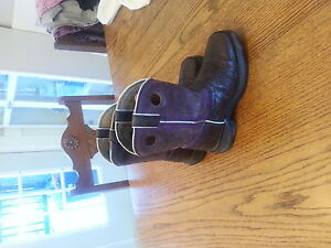 Girls western riding boots