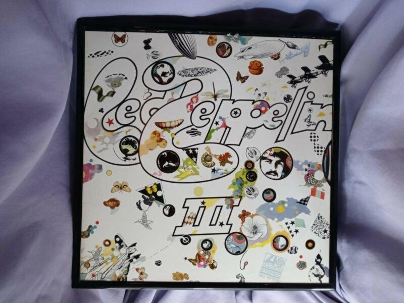 framed album covers Led Zepplin 3