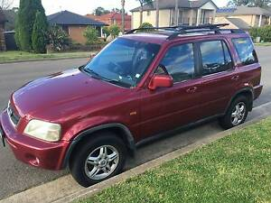 1999 Honda CRV SPORT SUV Quakers Hill Blacktown Area Preview