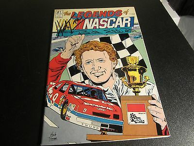THE LEGENDS OF NASCAR STARRING JIM ELLIOT #1 RARE  signed by HERB TRIMPE