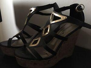 Wedge heels size 6
