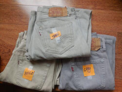 501  VTG. Levis Jeans  1990