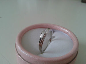 Diamond Ring 925 Silver