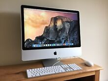 """24"""" iMac - Brand New Condition! - Intel 4GB RAM 640GB HDD Rutherford Maitland Area Preview"""