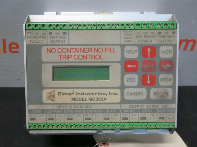 Hyde Park Elmar Industries MC383A Trip Controller Control