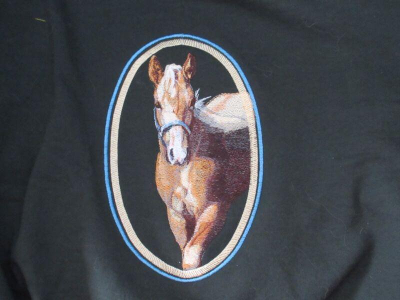 Embroidered Fleece Jacket - Palomino Horse BT4457 Sizes S - XXL