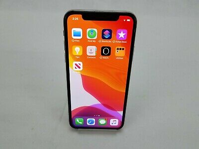Apple iPhone A1901, 64GB Unlocked Silver With Face ID