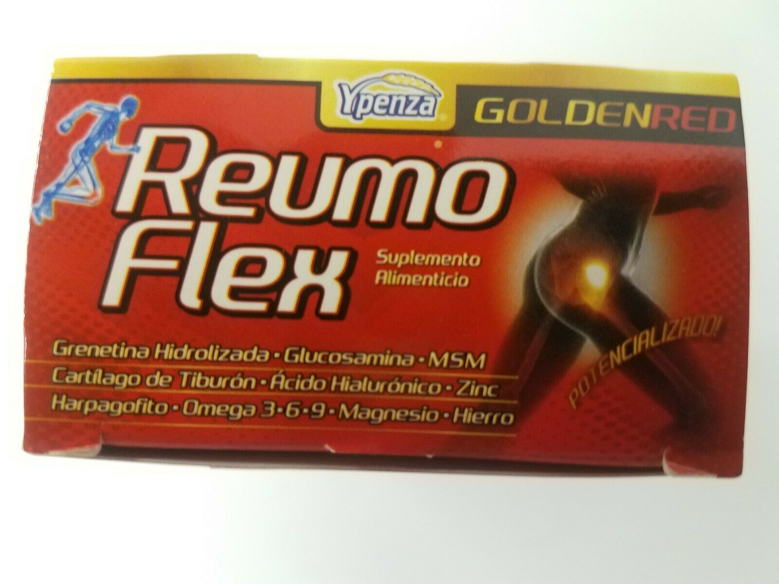 Reumo Flex GOLDEN RED Relieves Joints Artritis and Ciatica pain Articulaciones 4
